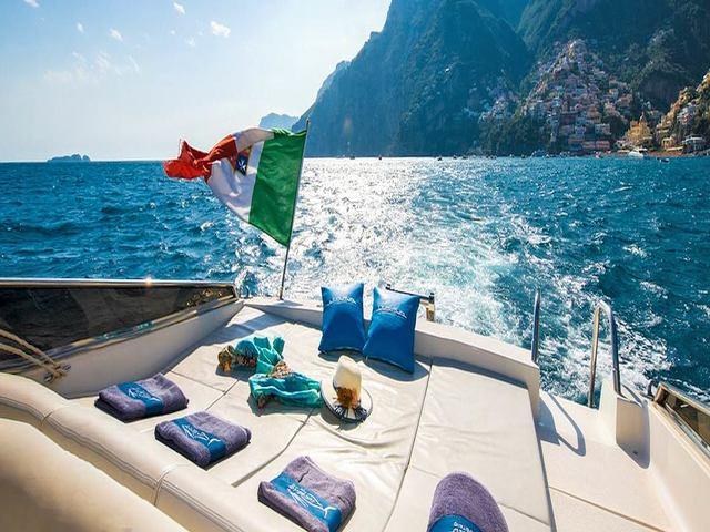 barche per feste napoli